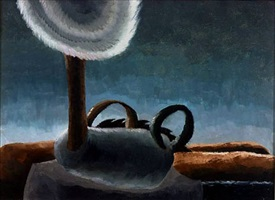 abstract from threshing engine by arthur dove