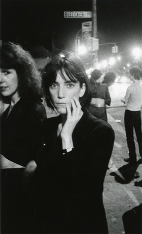 patti smith bowery 1976 by godlis