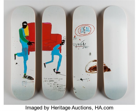 Light blue movers set of four skate decks open edition by jean light blue movers set of four skate decks open edition by jean mozeypictures Image collections