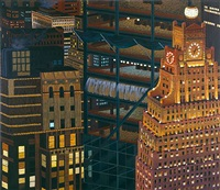 above times square by yvonne jacquette