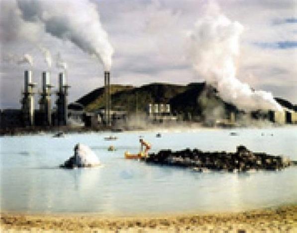 the blue lagoon, svartsengi geothermal hot water pumping station porbjörn, iceland by virginia beahan & laura mcphee