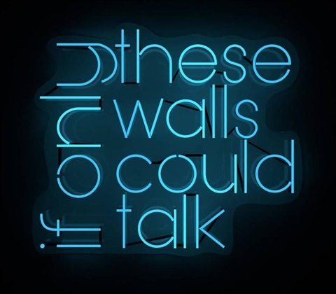 if only walls could talk poem
