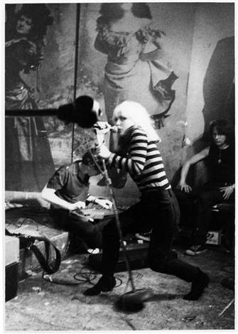 blondie cbgbs 1977 by godlis