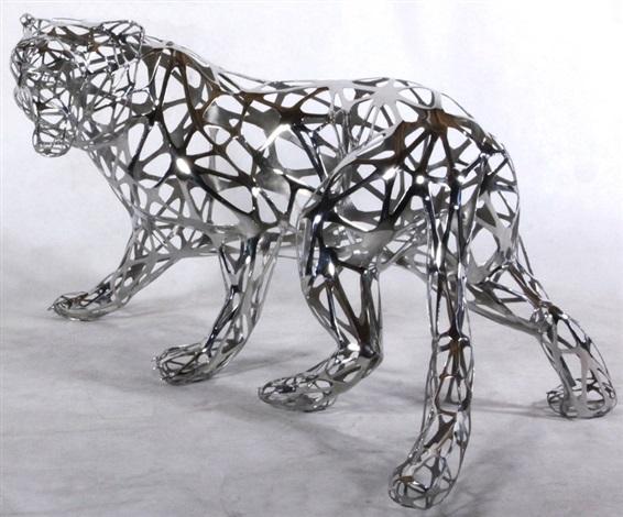 tigre dentelle by richard orlinski on artnet. Black Bedroom Furniture Sets. Home Design Ideas