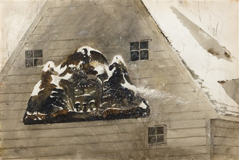 blizzard by andrew wyeth