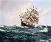 Oil Paintings By Reed Sailing Ship