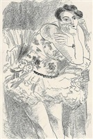 danseuse from 'dix danseuses' by henri matisse