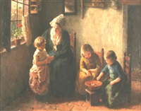 a mother and her children by bernard pothast