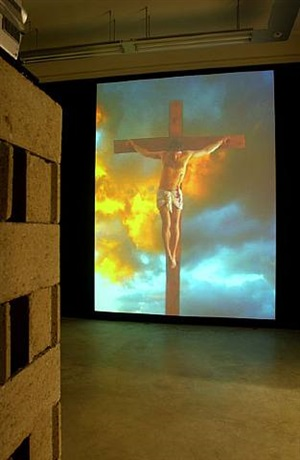shakin' jesus by mat collishaw