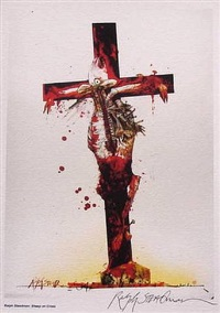 cross by ralph idris steadman