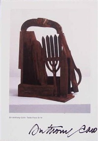 table piece by sir anthony caro