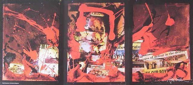 triptych by ralph idris steadman