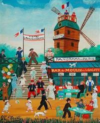moulin de la galette by hector trotin