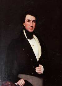 portrait of colonel ashley arden (ap-73) by samuel lovett waldo