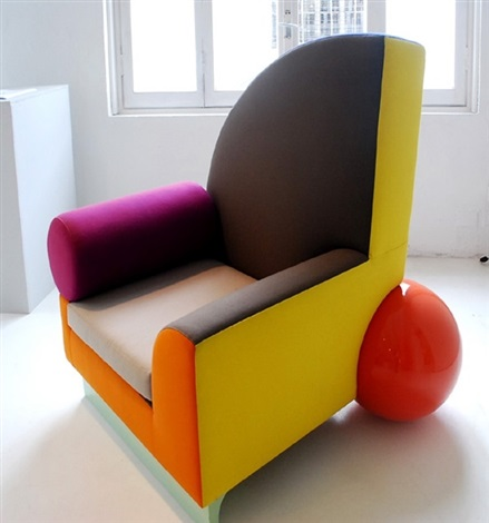Bel Air Chair By Peter Shire