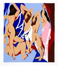 Les Demoiselles d'Avignon vues de Derrière, 1997