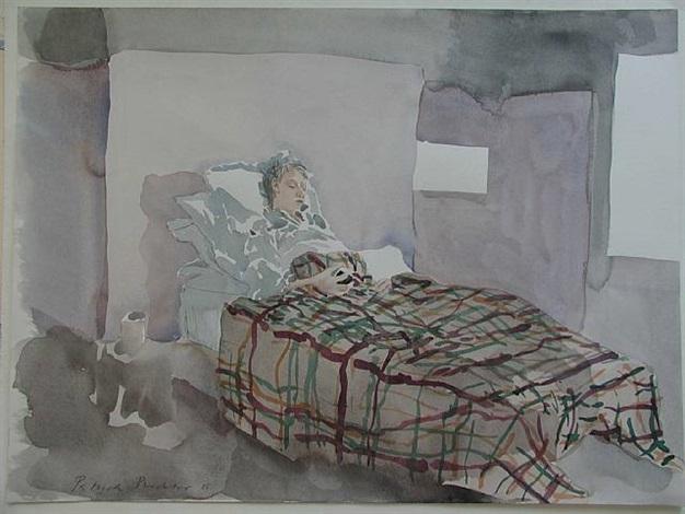 sick child by patrick procktor