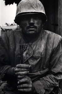 shellshocked us marine, hue, vietnam by don mccullin