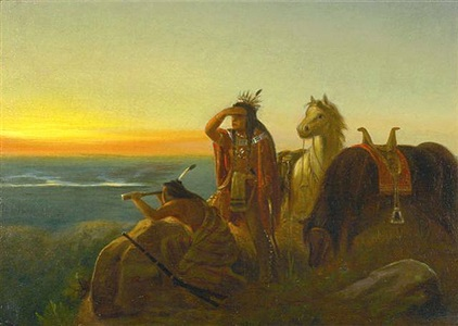 beyond the endless river art of the american frontier by charles wimar