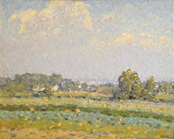 over the fields - sold by thomas r. manley