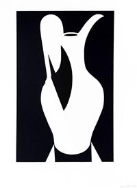 Large White Jug, 1990