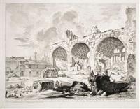 The Basilica of Constantine, 1757