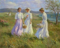 picnic at the shore by gregory frank harris