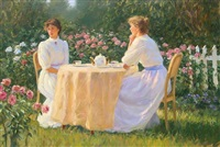 afternoon tea by gregory frank harris