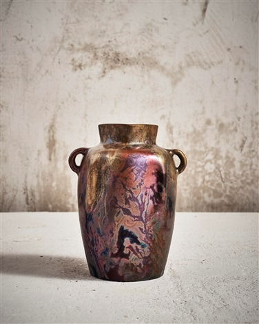 Sea Horse Vase By Clment Massier On Artnet