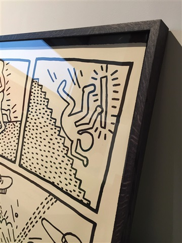 Untitled the blueprint drawings no 1 by keith haring on artnet malvernweather Images