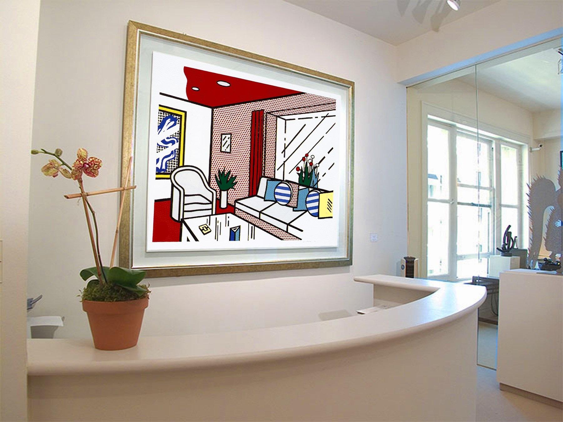 The Living Room by Roy Lichtenstein on artnet