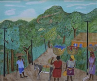 Cap-Haitien Rural Scene, 1959