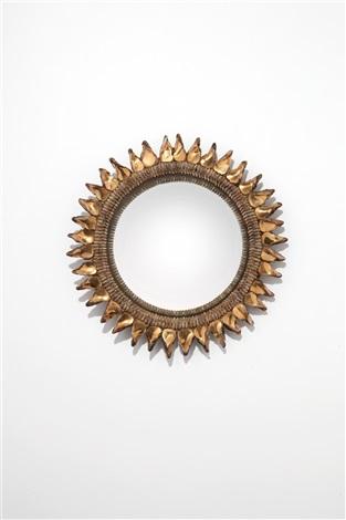 Assez Miroir Chardon Thistle Mirror by Line Vautrin on artnet RA43