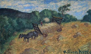 haywagon by milton avery