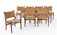 ch-31 chairs (set of 10) by hans j. wegner
