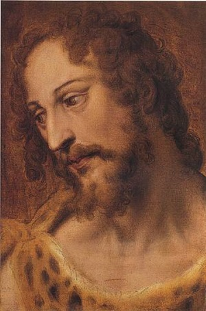 the head of saint john the baptist by bartolomeo passarotti