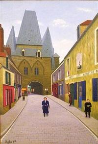 port de boulogne by camille bombois
