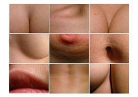 untitled (body details) by angelika krinzinger