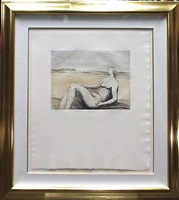 reclining figure portfolio: reclining figure 3 by henry moore