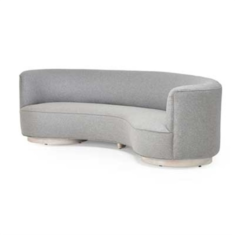 Pleasant Curved Sofa New York By Vladimir Kagan On Artnet Caraccident5 Cool Chair Designs And Ideas Caraccident5Info