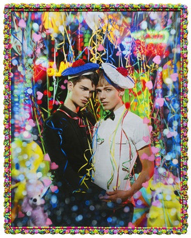 le petit bal quentin bruhat et izae by pierre et gilles on. Black Bedroom Furniture Sets. Home Design Ideas