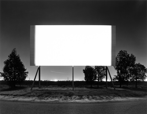Scottsdale Drive In By Hiroshi Sugimoto