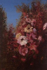 Study of Flowers in Nature