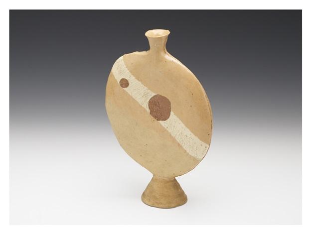 A Flat Vase By Kazuo Yagi On Artnet