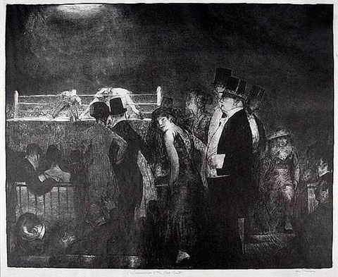 preliminaries (or, preliminaries to the big bout) by george wesley bellows