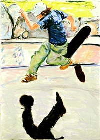 skateboarder by billy sullivan