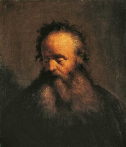 tronie eines alten mannes by jan lievens