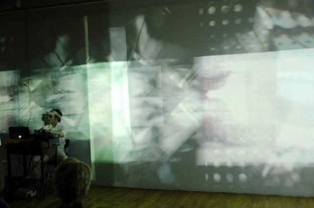hikari performance, august 5, 2004, walsh gallery, chicago by jongbum choi