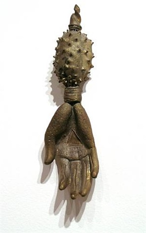 handwork, brass #2 by indira freitas johnson