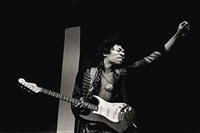 jimi hendrix, monterey pop festival (pl. 28/29), 1967 by jim marshall